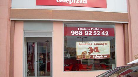 Establecimiento Telepizza MAZARRÓN (MU)