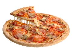 Pizza Barbacoa Crème Tomate