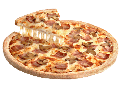 Pizza Carbonara Cebolla