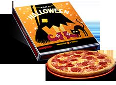 Pizza Halloween ¡Pídela sin miedo!