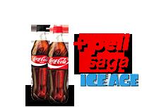 Dos refrescos(500 ml.) y película de la saga Ice Age