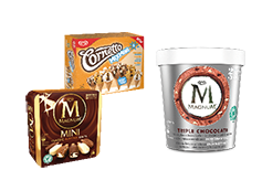 2x1 en Multipacks y Tarrina Triple Chocolate por 1,95€ más