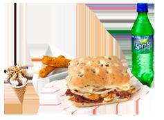 Menú Individual grande Sandwich