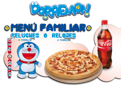 Menú Familiar  Doraemon