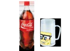 Llévate la jarra enfriadora de Bob Esponja con 1L Coca-Cola