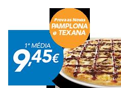 Pizza Média (até 4 ingr)