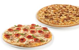 2 pizzas médias (até 4 ingr)