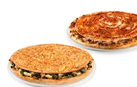 2 Pizzas Médias Lasanha