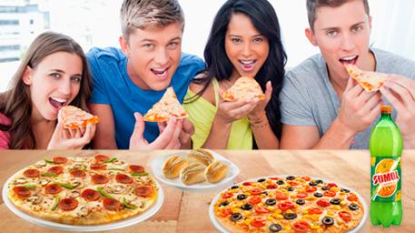 pizza e sumol
